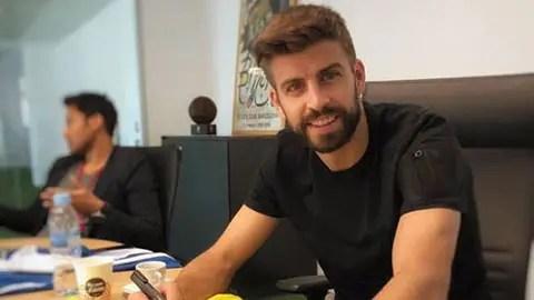 %name Pique bất ngờ làm fan của CLB vô danh Bồ Đào Nha