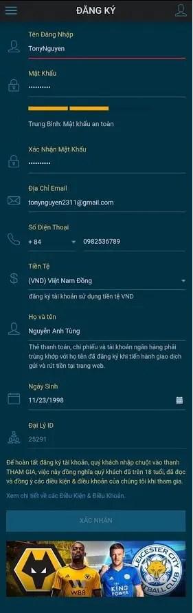 dang ky ban ca doi thuong tien that W88   nhà cái cá độ bóng đá online uy tín tặng 4,000,000VND cho thành viên mới