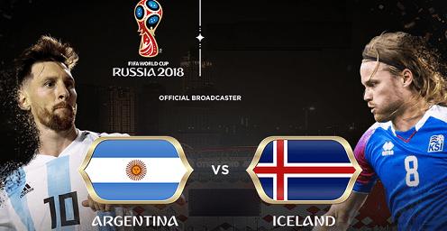 Tỷ lệ cược Argentina vs Iceland 20h ngày 1662018