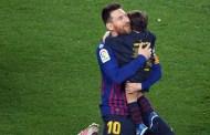 Messi có thể san bằng kỷ lục của Giggs trong mùa này