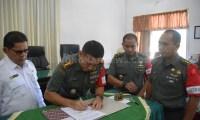 Wujudkan Ketahanan Pangan di Aceh Timur,  Danrem 011 Lilawangsa Teken MoU Dengan Distan