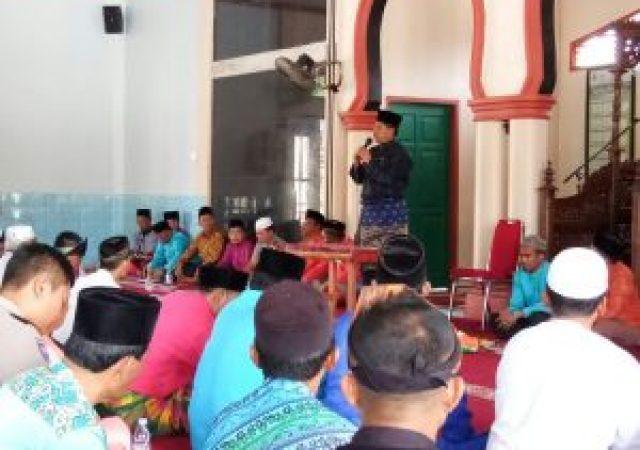 Monitoring Kampung Sakinah di Bungaraya Alfedri: rumahku adalah surgaku.