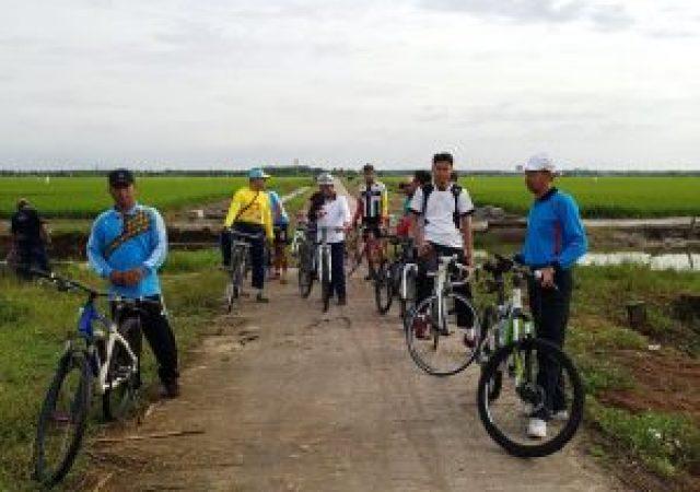 Finalisasi Rute Fun BikeTDS Tour De Sawah Agrowisata Kecamatan Bungaraya