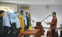 Bertema Rajut Ukhuwah Membangun Solidaritas, Budi Yuwono Lantik 32 Orang Pengurusan Kabinet Hijrah Hipermaksi Periode 2017-2019