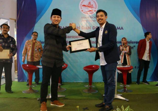 Sarasehan dan Doa Bersama Aliansi BEM Se-Jawa Timur