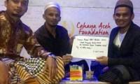Alumni MAN Model Aceh Berikan Donasi Santunan Anak Yatim Melalui Yayasan Cahaya Aceh