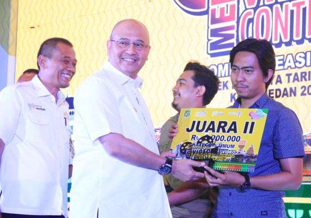 Walikota Apresiasi  Pagelaran  Medan Tourism Video Contest