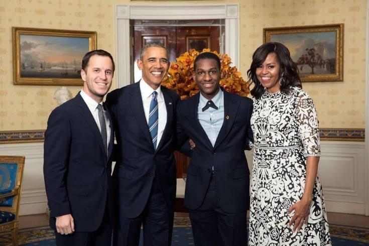 Leon Bridges+Obama