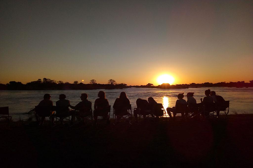 Sunset on a Bongwe Safari