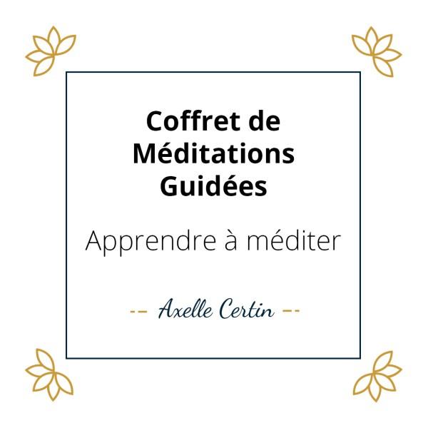 Coffret apprendre à méditer