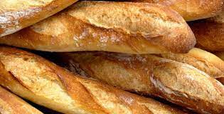 Des baguettes de pain