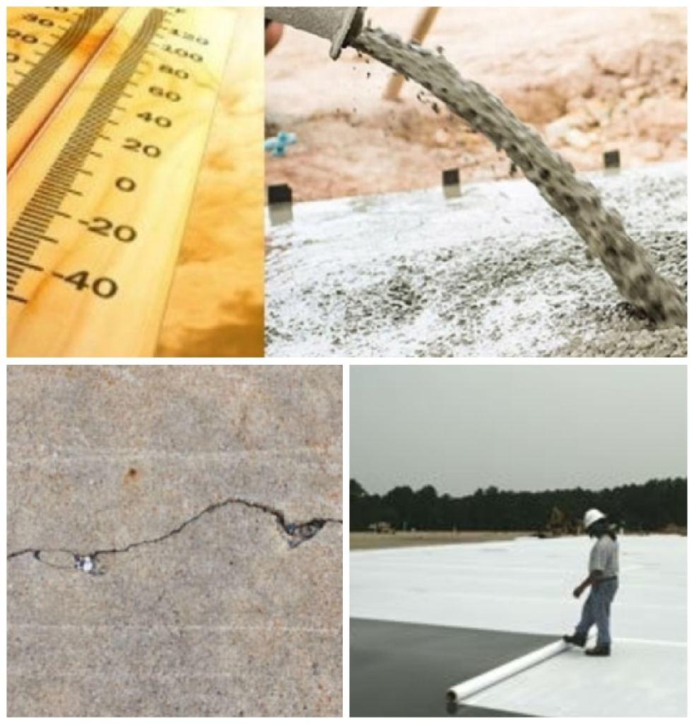 صب الخرسانة في الطقس الحار | الاحتياطات والتأثيرات