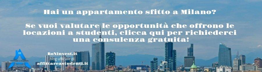 affittare a studenti Milano