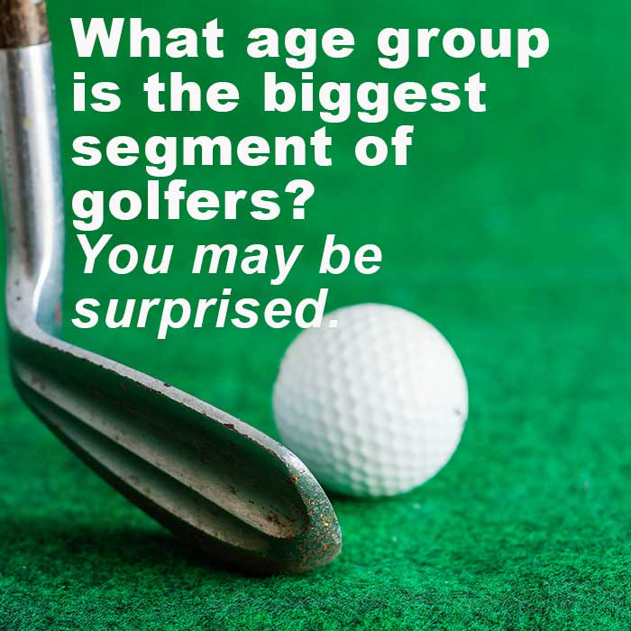 Golf popularity graphic