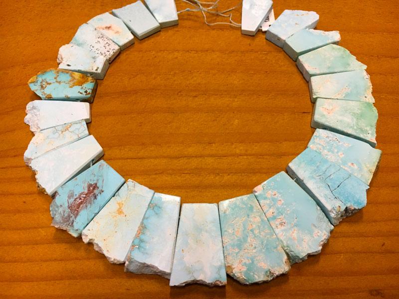 kingman turquoise plates