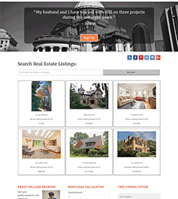 The Boston Home Team Website Redesign