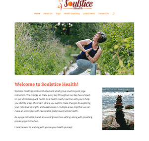 Soulstice Health Website Design