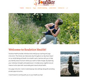 Soulstice Health Website Design