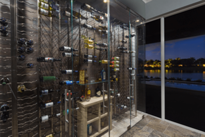 Creating An All Glass Wine Cellar Or Room The Glass