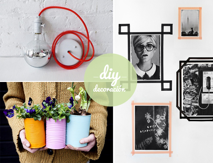 Ideas de decoracion reciclando latest cmo reciclar y - Ideas para decorar reciclando ...