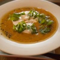 スパイス使いが絶妙!赤レンズ豆のスパイシー・スープ Spiced lentil soup