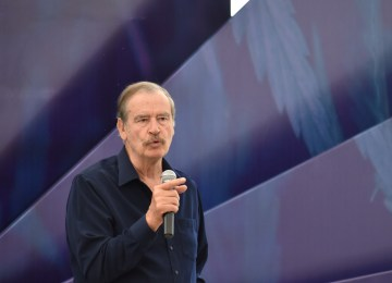 Vicente Fox en CannaMéxico 2019