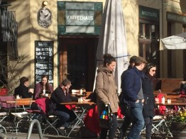 Easter, sunny day, brunch, coffee, beer, spring, Berlin