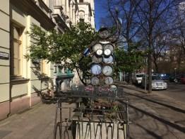 Statue, pan, Prenzlauer Berg, sunny day, spring, Easter,