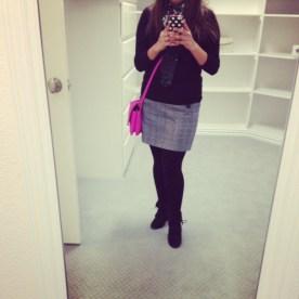 tweed skirt for petites