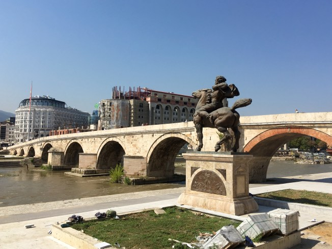 Stone Bridge, Skopje - Real Food Adventure Macedonia and Montenegro