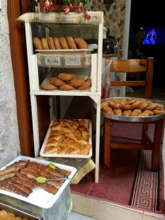 Baklava for sale in Rhodes