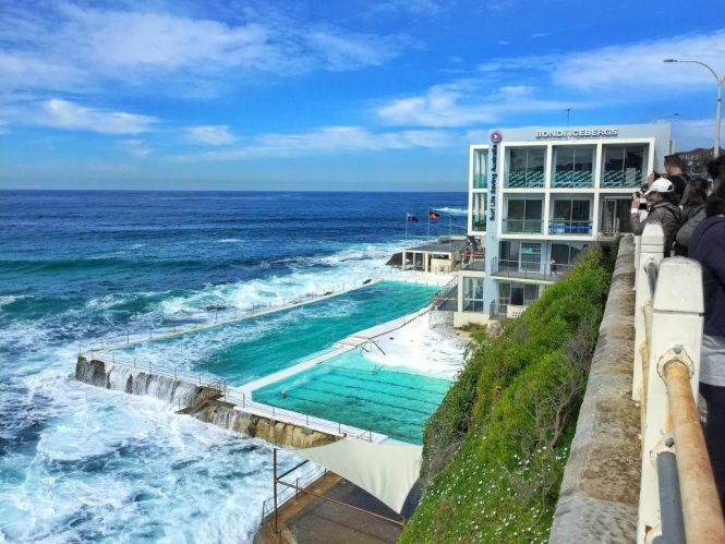 I posted about the iconic Icebergs pool in my previous post when I talked  about the Coogee to Bondi Beach walk  Icebergs also has two restaurants. Steaks by the Pool   Bubble Tea Cocktails  Where to Eat   Drink in