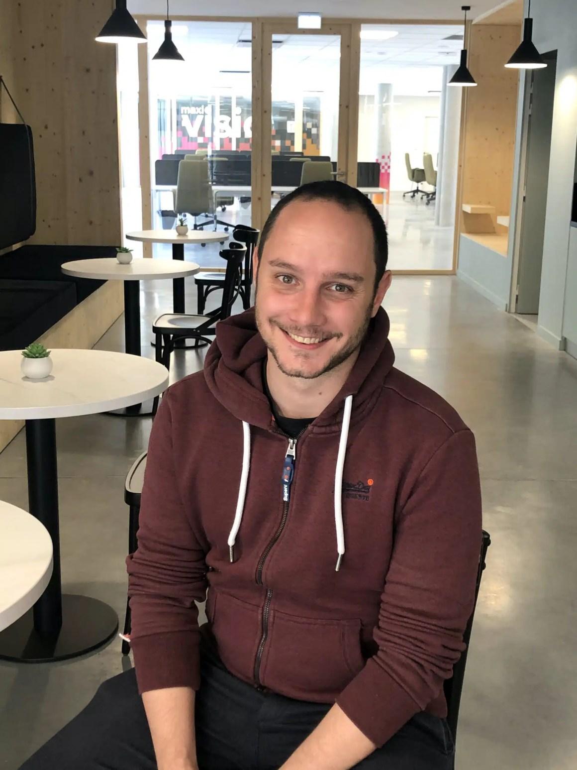 Alexandre, coworker à la brasserie du digital
