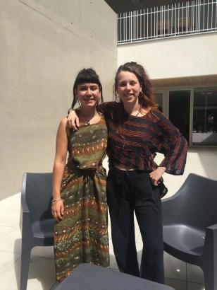 Auriane Lefèvre et Louisa Garnier, créatrices de La Rafistolerie et de l'association Clepsydre
