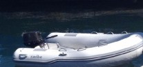 Our new dinghy and outboard