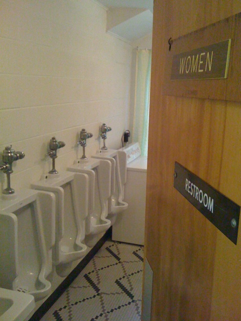 women's urinals