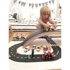 Circuit de voitures felxibles