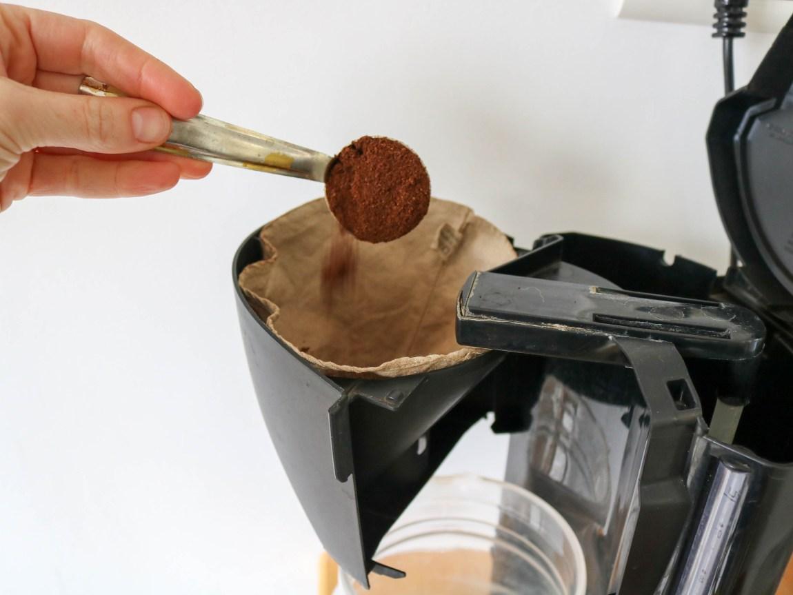 filtre à café en lin zéro déchet
