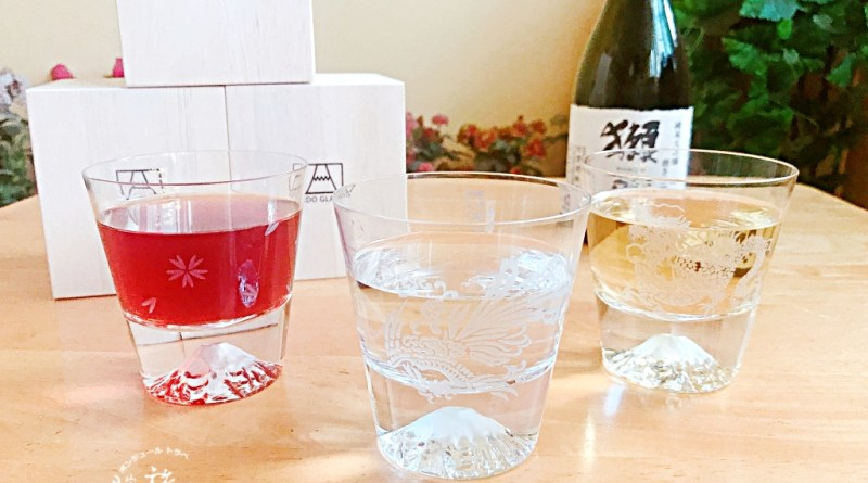 注入職人魂的日本藝術工藝~田島硝子富士山杯(江戶硝子富士山グラス)