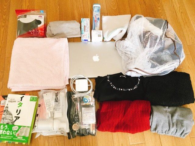 ヨーロッパ2週間の旅行を機内持ち込み手荷物だけにする方法