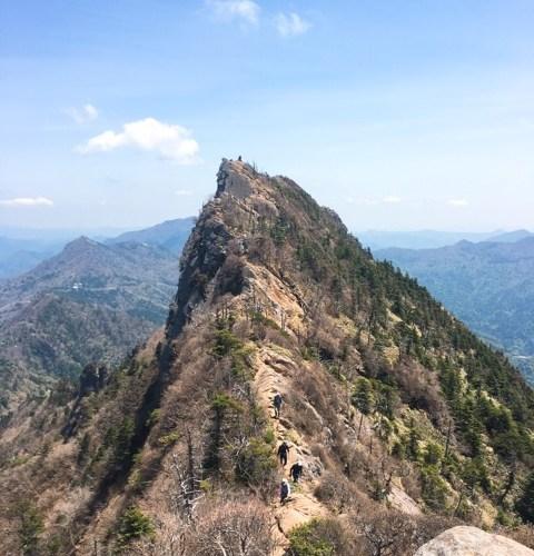 【愛媛】初心者が西日本一高い石鎚山を登ったぞ、その方法