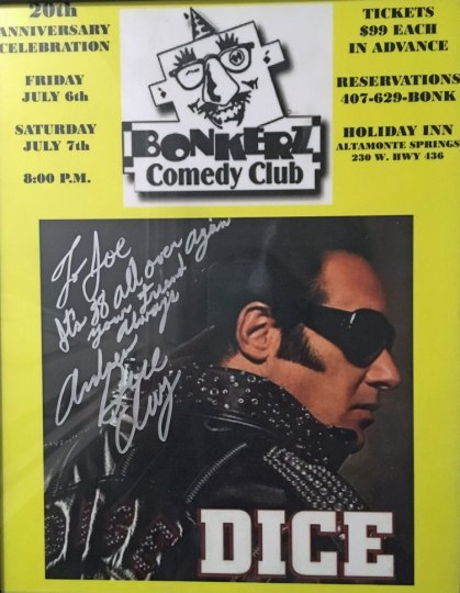 Andrew Dice Clay - Autographed Poster