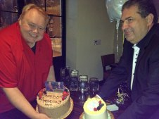 Louie Anderson's 30th Anniversary of the Tonight Show & Joe's Birthday