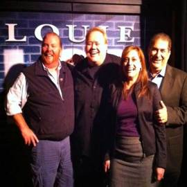 Mario Batali Louie Anderson Margaret and Joe Sanfelippo