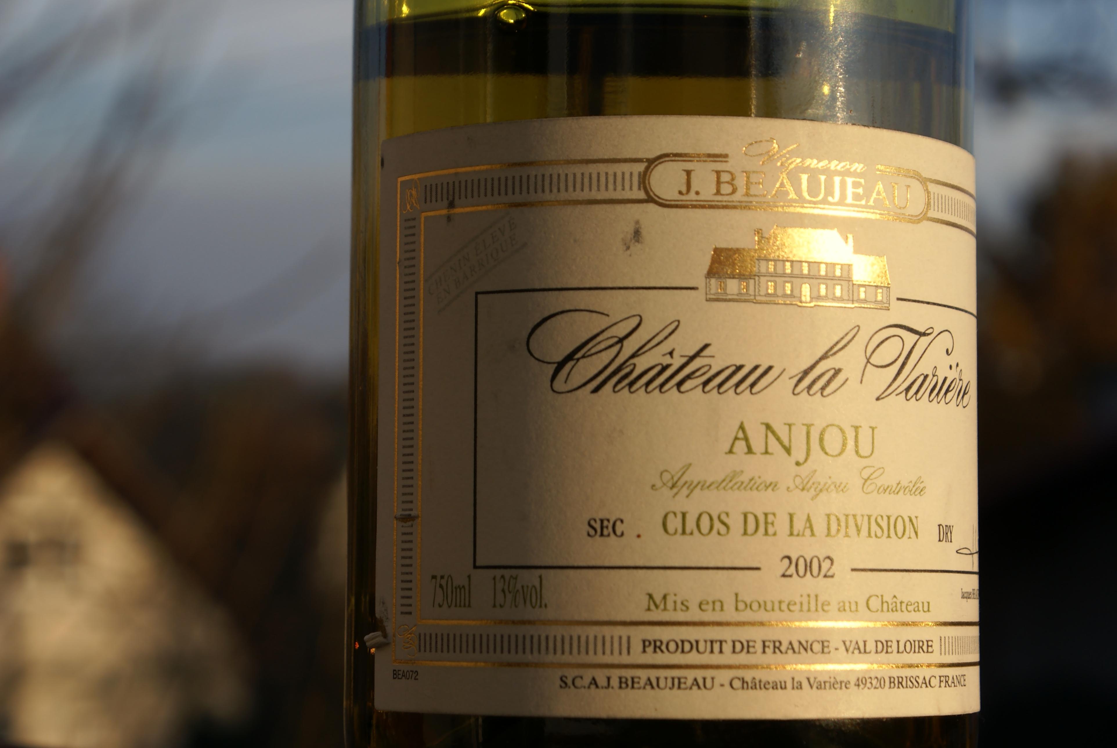 Ch La Variere Anjou Clos de la Division 2002 (1)