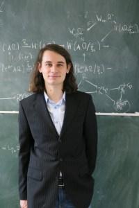 Prof. Dr. Peter Scholze; Foto: Dr. Astrid Slizewski / Uni Bonn