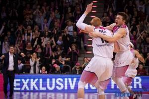 Baskets gewinnen mit neuem Coach