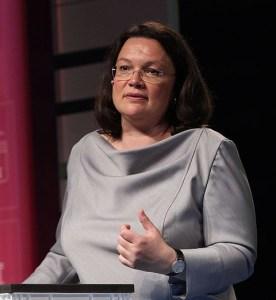 Berühmt und berüchtigt: Andrea Nahles – 10 Jahre Studium und ein Bundestagsmandat