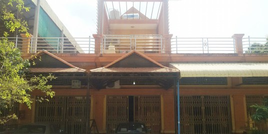 Flat for sale near Trapeang Tloeng Market (Choam Chao)
