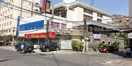 Building for rent behind Pacific Hotel Phnom Penh
